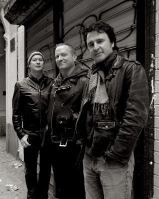 Left to right: Christopher Peifer, Guy Lyons and Jim Balga. Photo by Linda Rizzo.